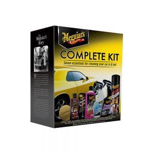 کیت مراقبت کامل اتومبیل Meguiar – کیت جزئیات ضروری – G19900